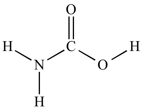 Carbonic >> Illustrated Glossary of Organic Chemistry - Carbamate; carbamaic acid; carbamate ester; urethane