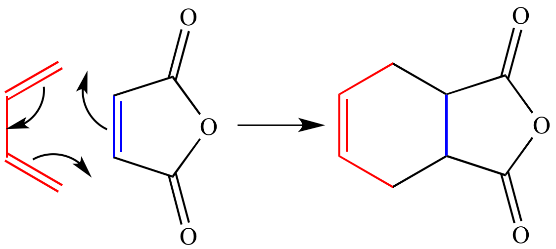 diels alder reaction of cyclopentadiene and maleic anhydride The diels-alder dimerization of trans-i-substituted butadienes is expected  an  example of this is found in the addition of maleic anhydride to cyc10pentadiene.