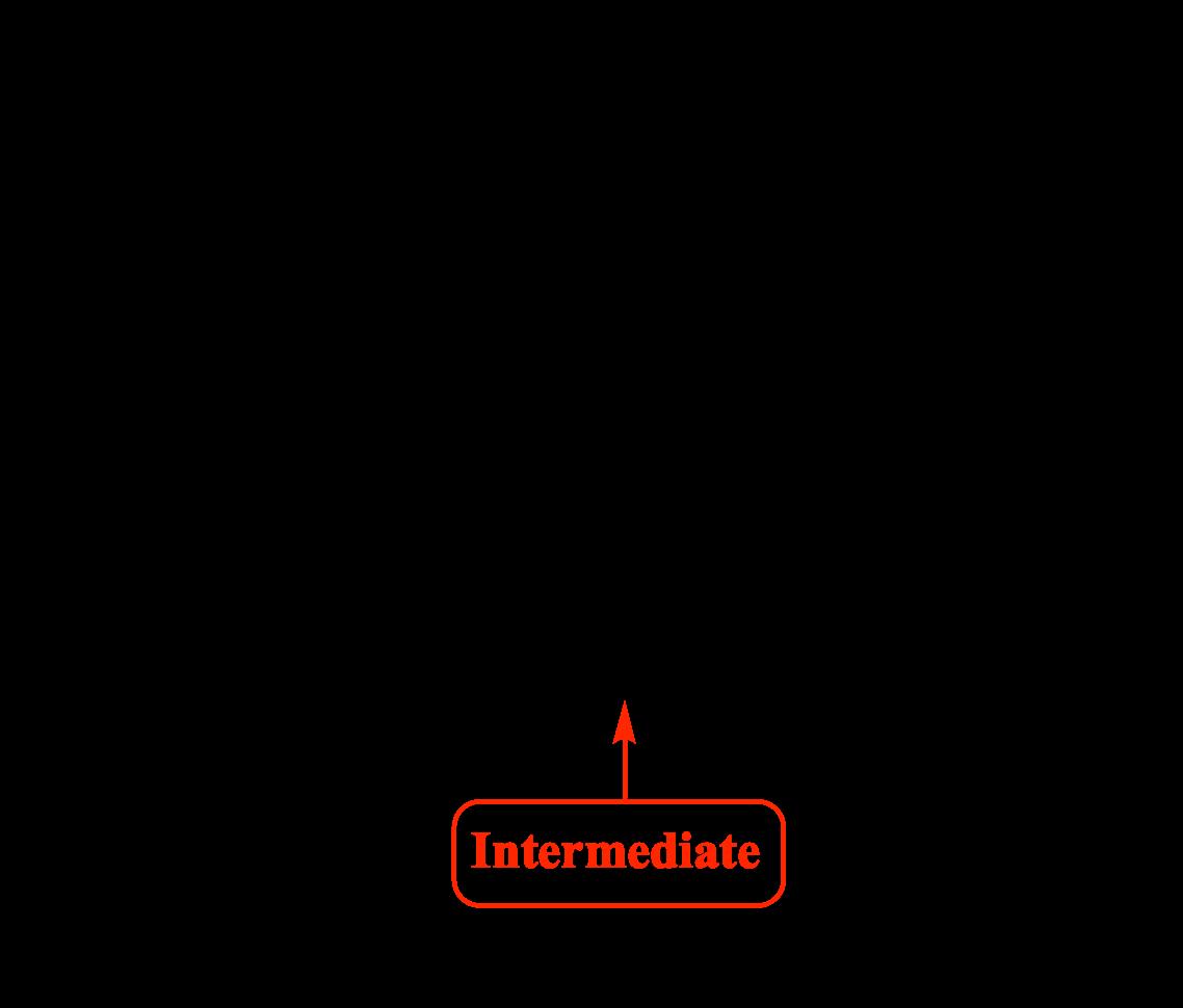 Intermediate products