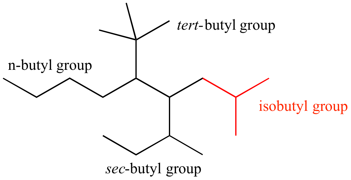 Illustrated Glossary Of Organic Chemistry Isobutyl Group
