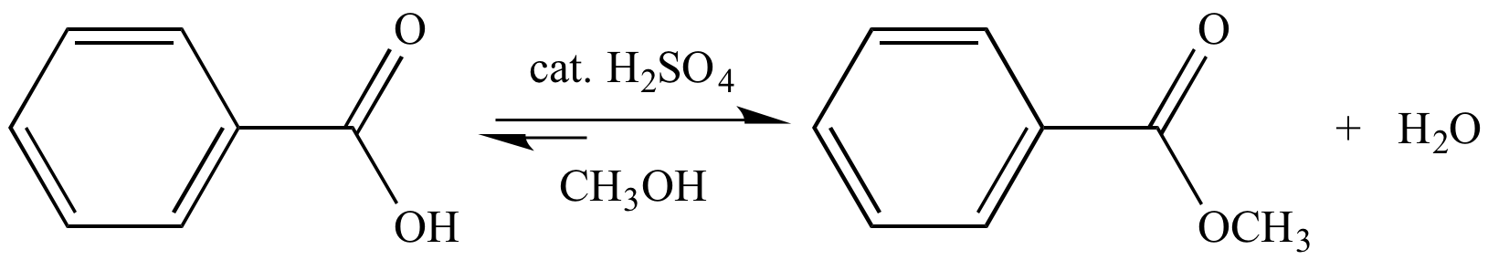 fischer esterification of benzoic acid