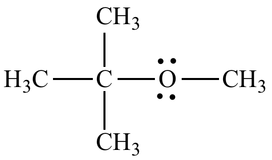 A study of methyl tertiary butyl ether