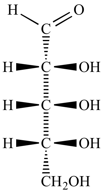 Arabinose Fischer Projection