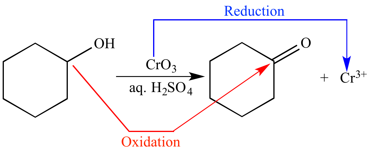 the jones reaction the oxidation of