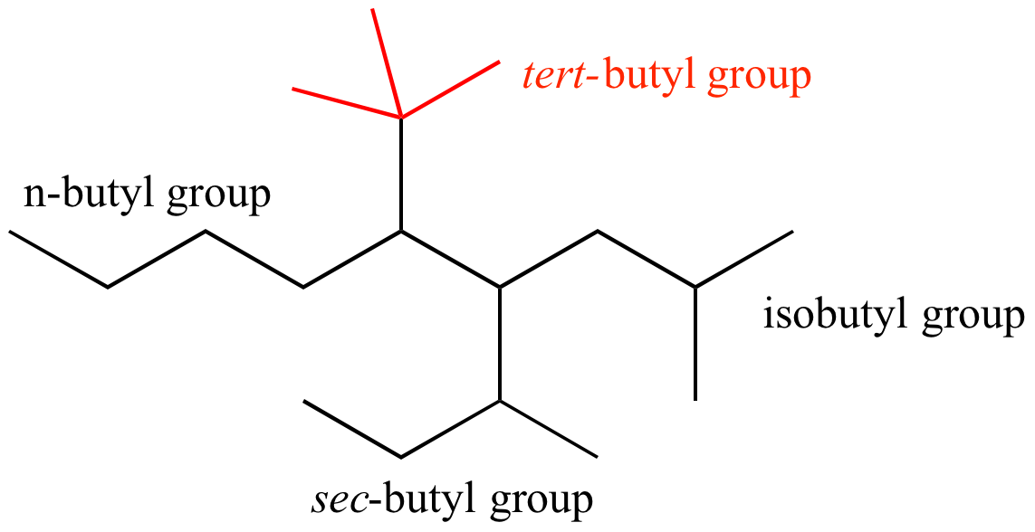 Illustrated Glossary Of Organic Chemistry Tert Butyl Group