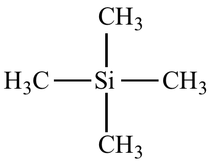 Tetramethylsilane on index